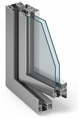 aluminiowe z przegrodą termiczną